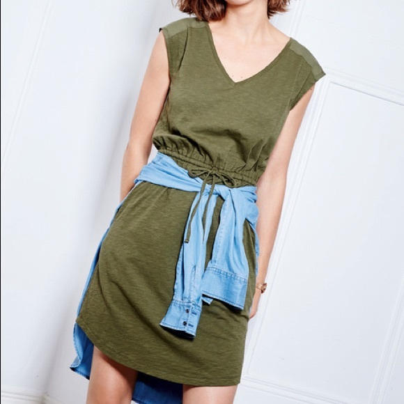 49e5ce78003c Boden Dresses & Skirts - Boden Mya Jersey Dress in Olive Green